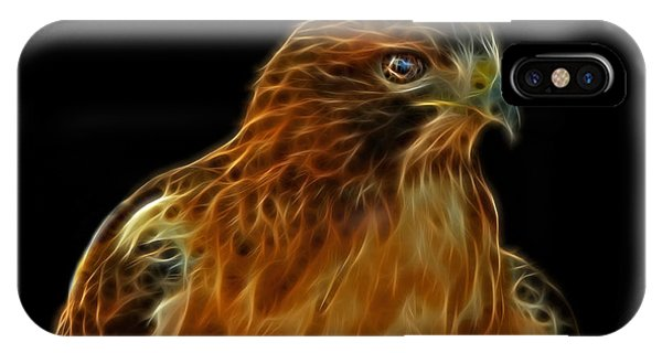 Red-tailed Hawk IPhone Case