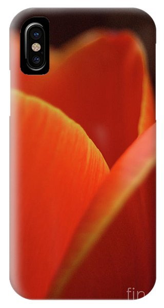 Red Tulip IPhone Case