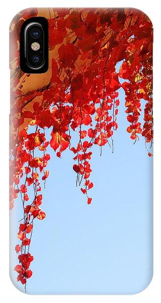 Red Vine IPhone Case