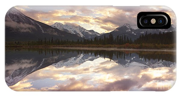 Reflecting Mountains IPhone Case