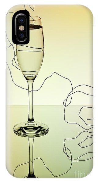 Dinner iPhone Case - Reflection 01 by Nailia Schwarz