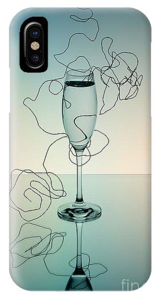 Dinner iPhone Case - Reflection 03 by Nailia Schwarz