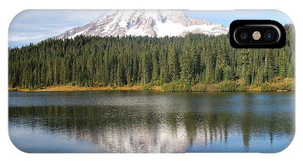 Reflection Lake - Mt. Rainier IPhone Case