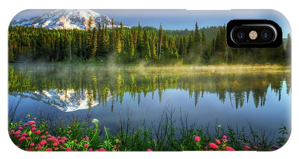 Reflection Lakes IPhone Case
