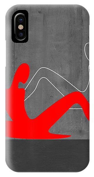 Abstract Figurative iPhone Case - Relaxation by Naxart Studio