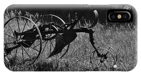 IPhone Case featuring the photograph Retired Farmer by Ron Cline