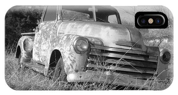 Old Chevy Truck iPhone Case - Retired by Steve Cost
