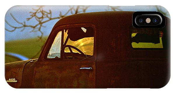 Retirement For An Old Truck IPhone Case