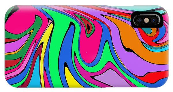 Retro Abstract IPhone Case