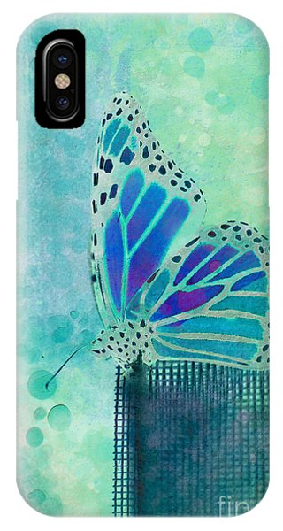 Insect iPhone Case - Reve De Papillon - S02b by Variance Collections