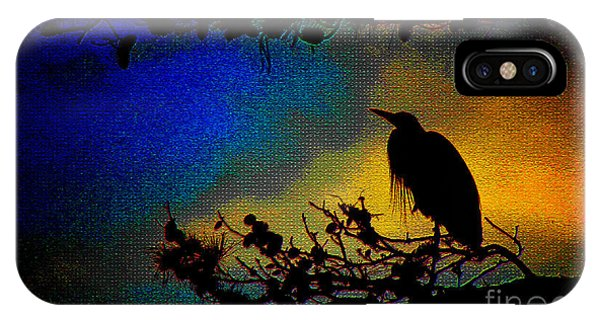 Richly Colored Night  IPhone Case