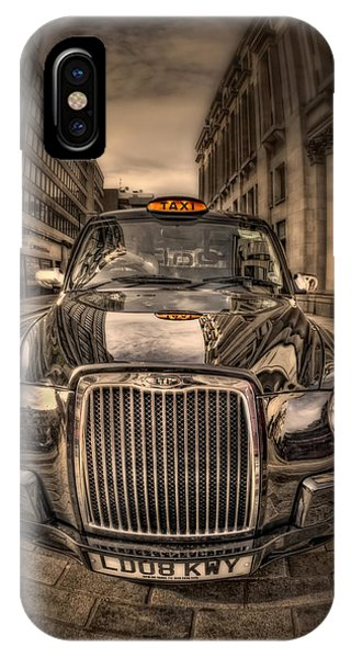Cab iPhone Case - Ride With Me by Evelina Kremsdorf