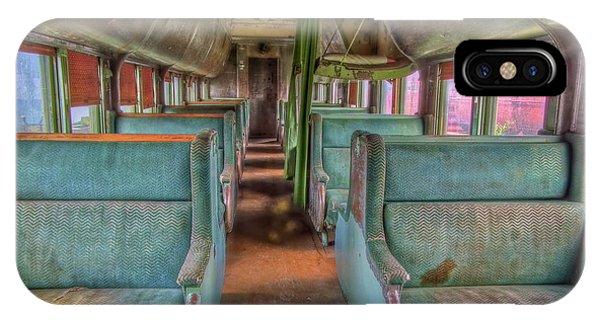 Riding In Coach IPhone Case