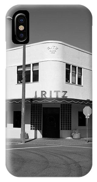 Ritz Building Eureka Ca IPhone Case