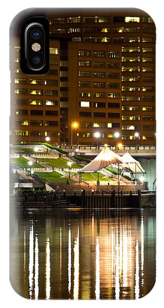 River Front At Night IPhone Case