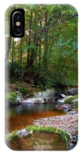 River In Cawdor Big Wood IPhone Case