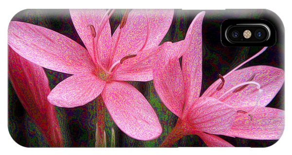 River Lily IPhone Case