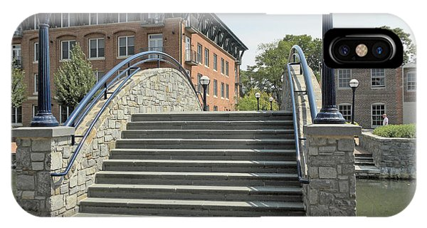 River Walk Bridge In Frederick Maryland IPhone Case