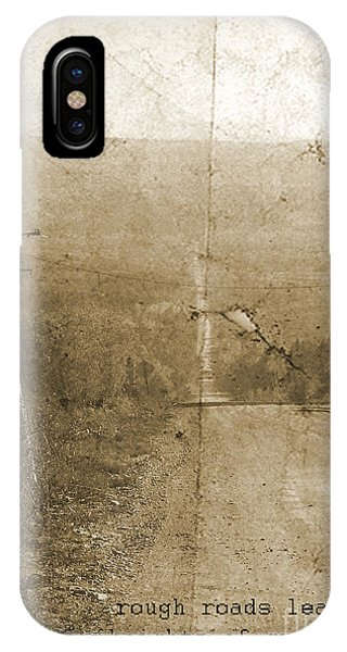 Road Not Traveled  IPhone Case