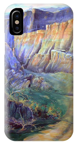 Road To Rainbow Gulch IPhone Case
