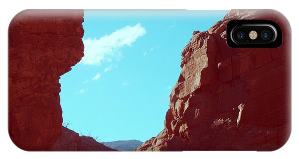 Death Valley iPhone Case - Rocks And Sky by Naxart Studio