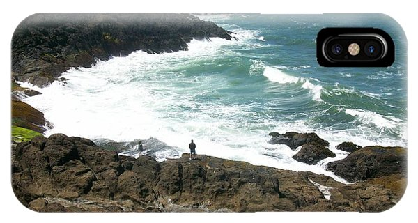 Rocky Ocean Coast IPhone Case