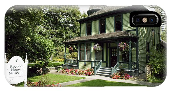 Roedde House Museum Vancouver Canada Phone Case by John  Mitchell