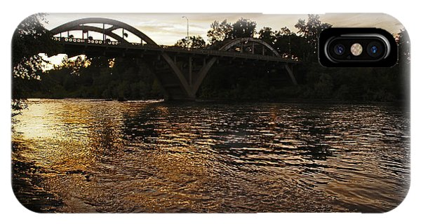 Rogue River Sunset IPhone Case