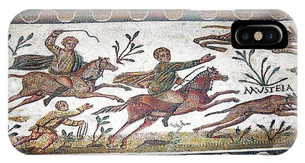 Roman Mosaic Phone Case by Sheila Terry