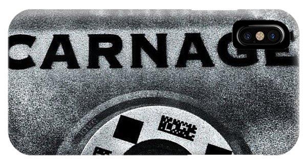 Movie iPhone Case - roman Polanski's Carnage, Wonderful by Carrie Mroczkowski