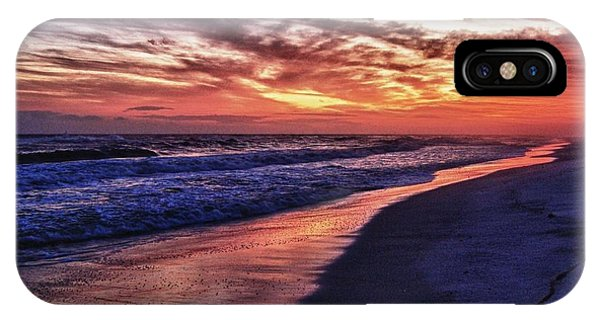 Romar Beach Sunset IPhone Case