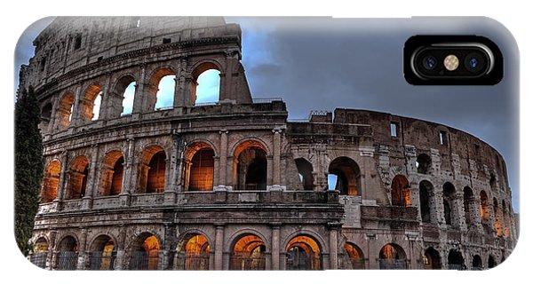 Novelty iPhone Case - Rome Colosseum by Joana Kruse