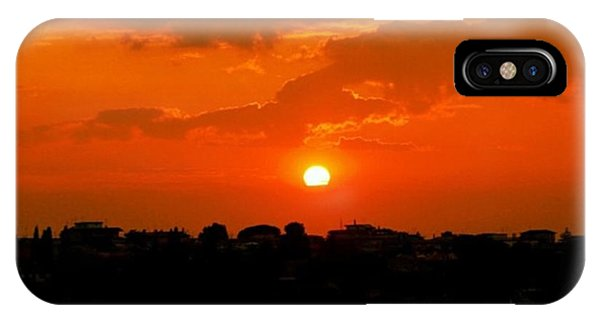 Sunset iPhone Case - Rome's Sunset by Luisa Azzolini