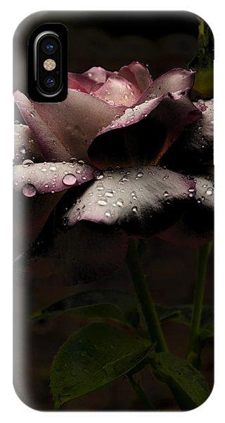 Rose After Dark IPhone Case