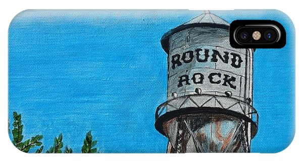 Round Rock Texas IPhone Case