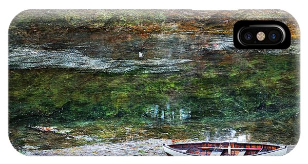 Rowboat In The Slough IPhone Case