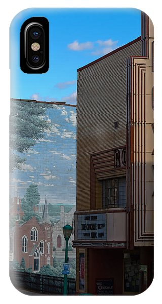 Roxy Theater And Mural IPhone Case
