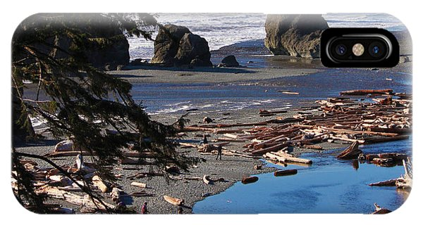 Ruby Beach IIi IPhone Case