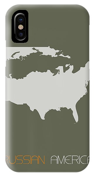 Russian America Poster IPhone Case