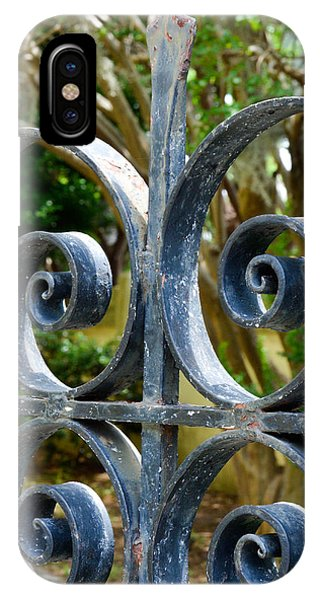 Rusted Charleston Ironwork IPhone Case