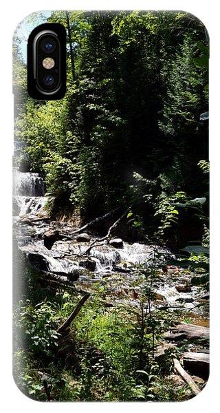 Sable Falls Grand Marais Mi IPhone Case