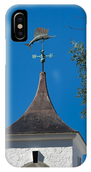 Sailfish Weather Vane At Palm Beach Shores IPhone Case