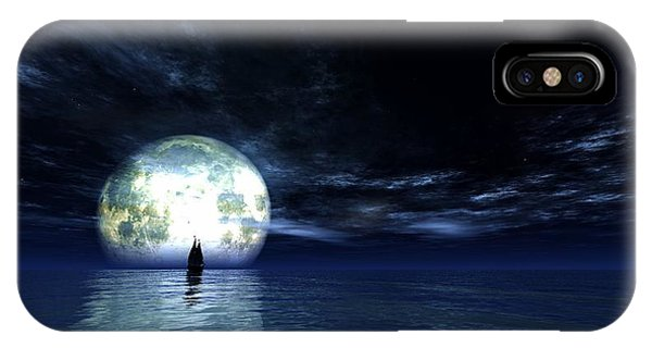 Sailing At Night... IPhone Case