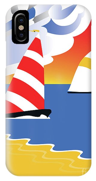Sailing Before The Wind IPhone Case
