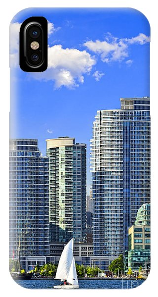 Condo iPhone Case - Sailing In Toronto Harbor by Elena Elisseeva