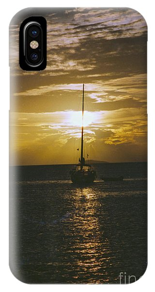 IPhone Case featuring the photograph Sailing Sunset by William Norton