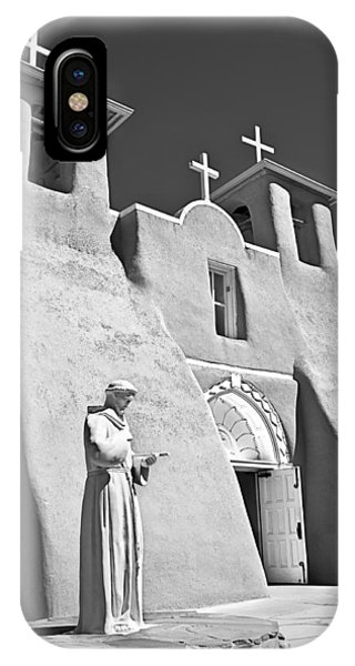 Saint Francisco De Asis Mission IPhone Case