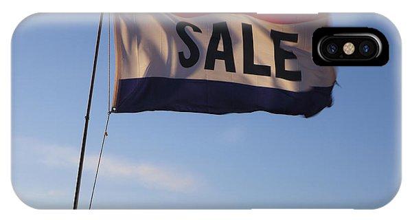 Sale Flag In The Wind Phone Case by Paul Edmondson