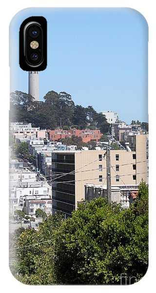San Francisco Coit Tower IPhone Case
