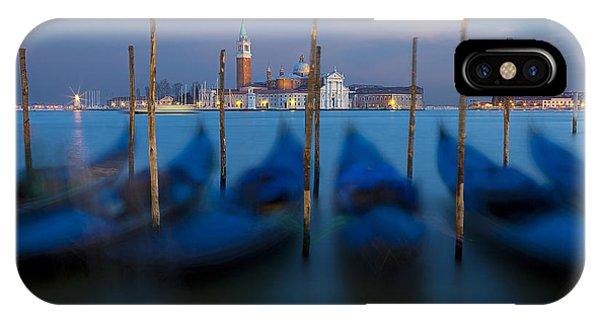 San Giorgio Maggiore With Twilight Sky IPhone Case